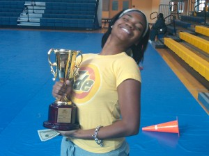 Angie Ange and the Drum Major Award